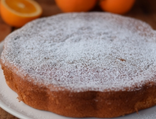 Homemade orange cake…try it!